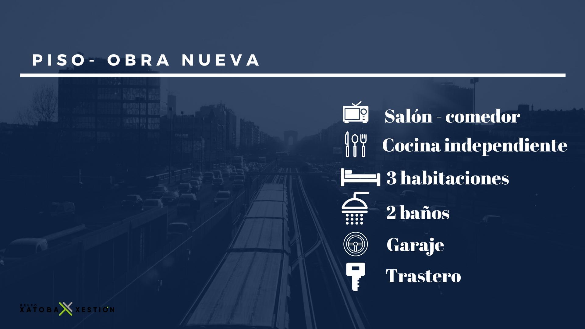 Piso de nueva construcción – en zona sur de Lugo