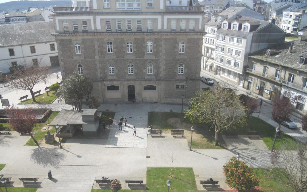 Amplio piso en única planta – en plaza del Ferrol en Lugo