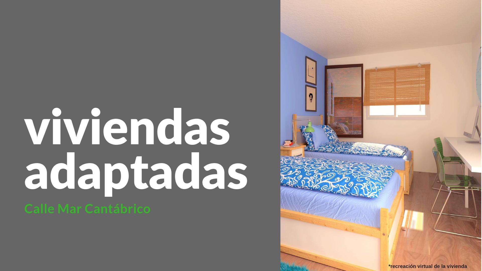Apartamento en tercer piso – en calle Mar Cantábrico en Lugo
