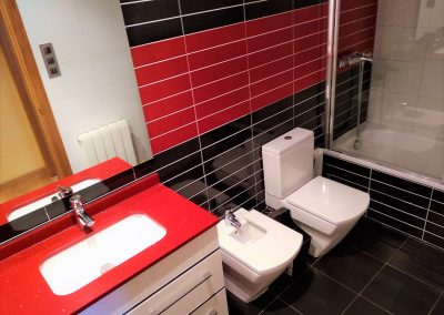 Moderno baño completo