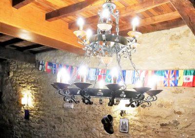Detalles decoración café bar