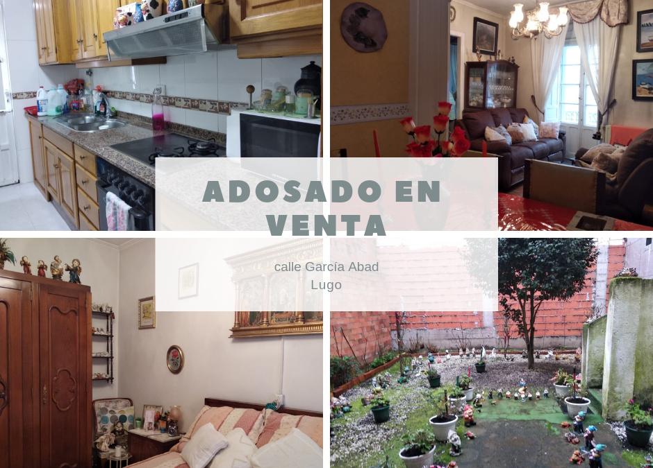 Casa adosada – en la calle Garcia Abad en Lugo