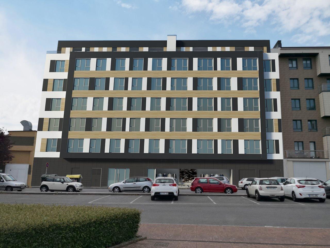 Ático con dos terrazas en obra nueva – en zona sur de Lugo