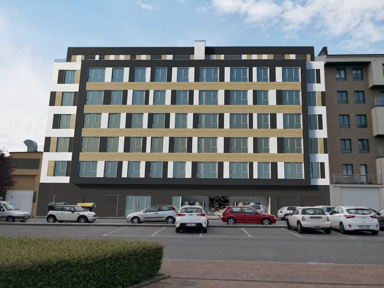 Ático con dos terrazas en obra nueva – en calle Illa Coelleira de Lugo