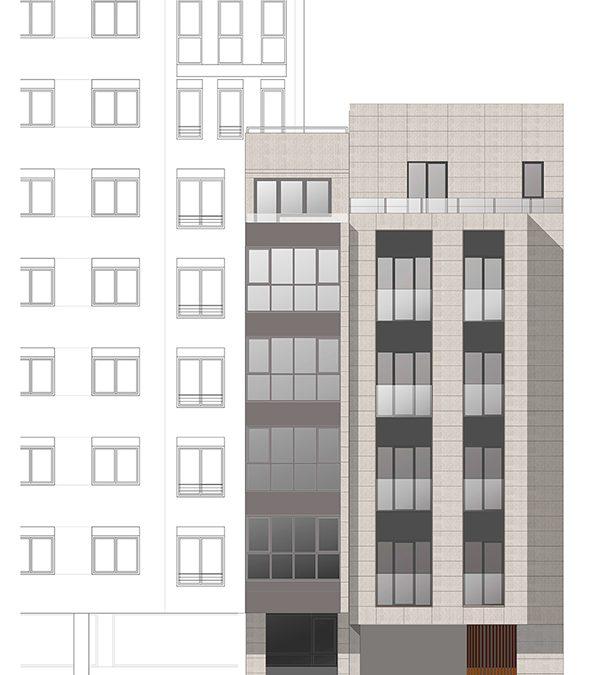 Ático con terraza de nueva construcción – en calle Chantada de Lugo