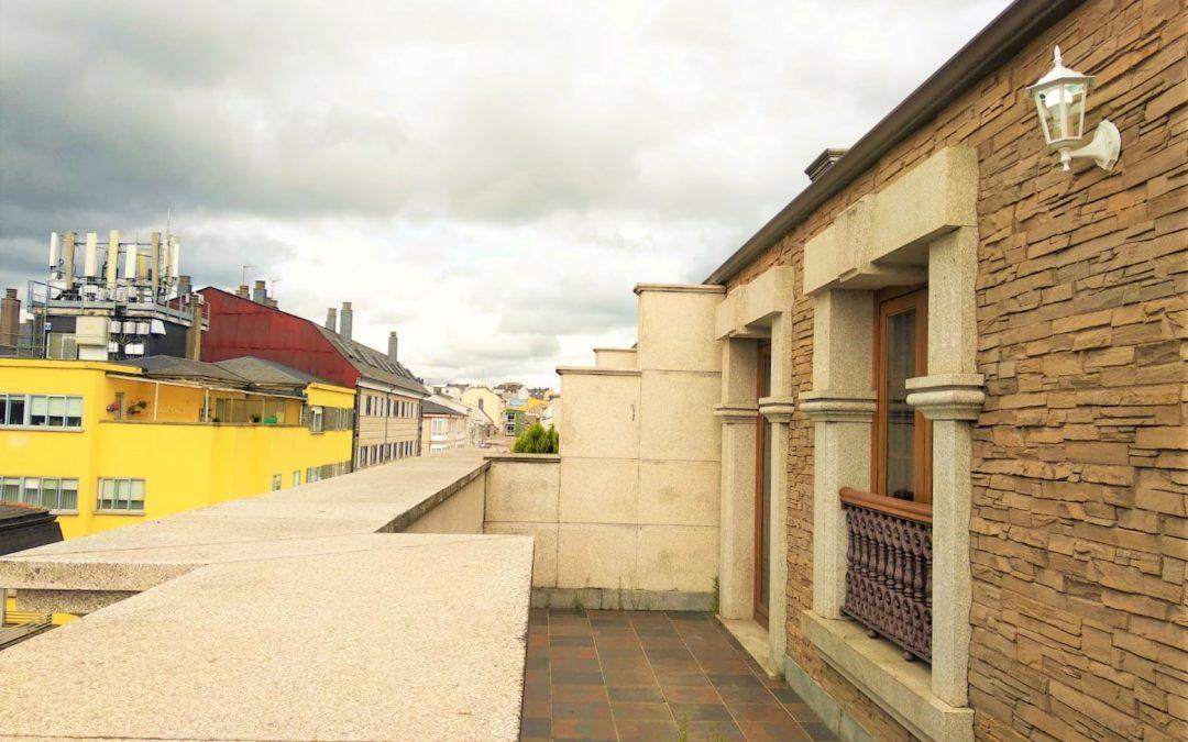 Duplex con dos terrazas – en calle Tui en Lugo