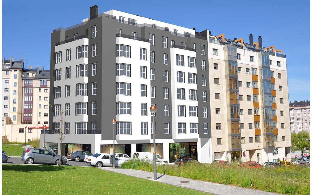 Última vivienda tipología B en obra nueva – en zona sur de Lugo
