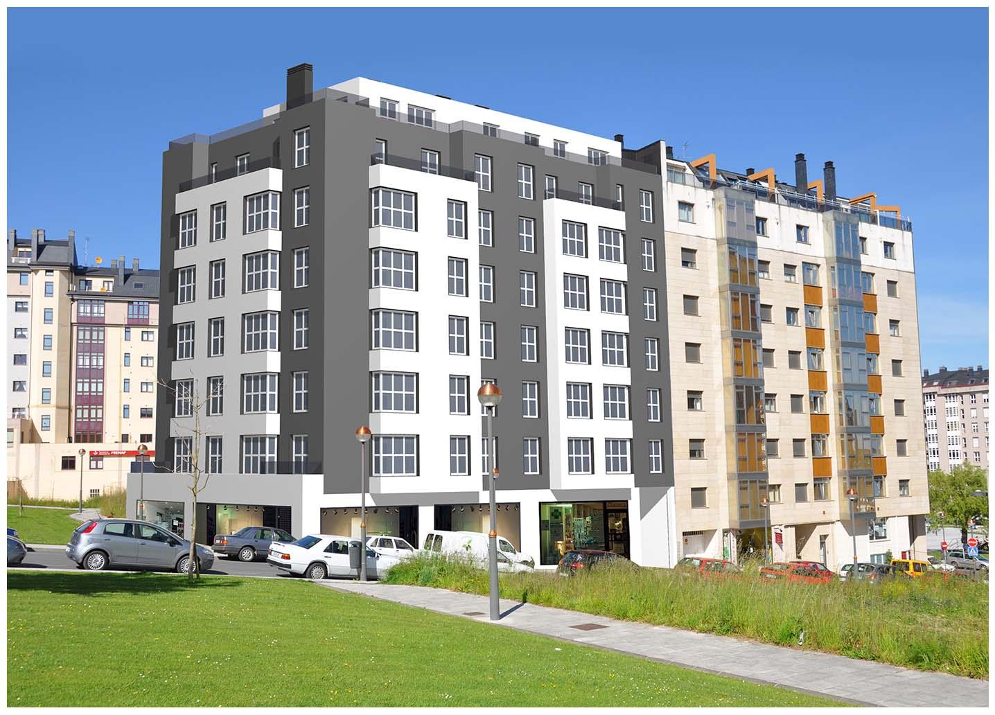 Obra nueva – en zona Aguas Férreas (Lugo)
