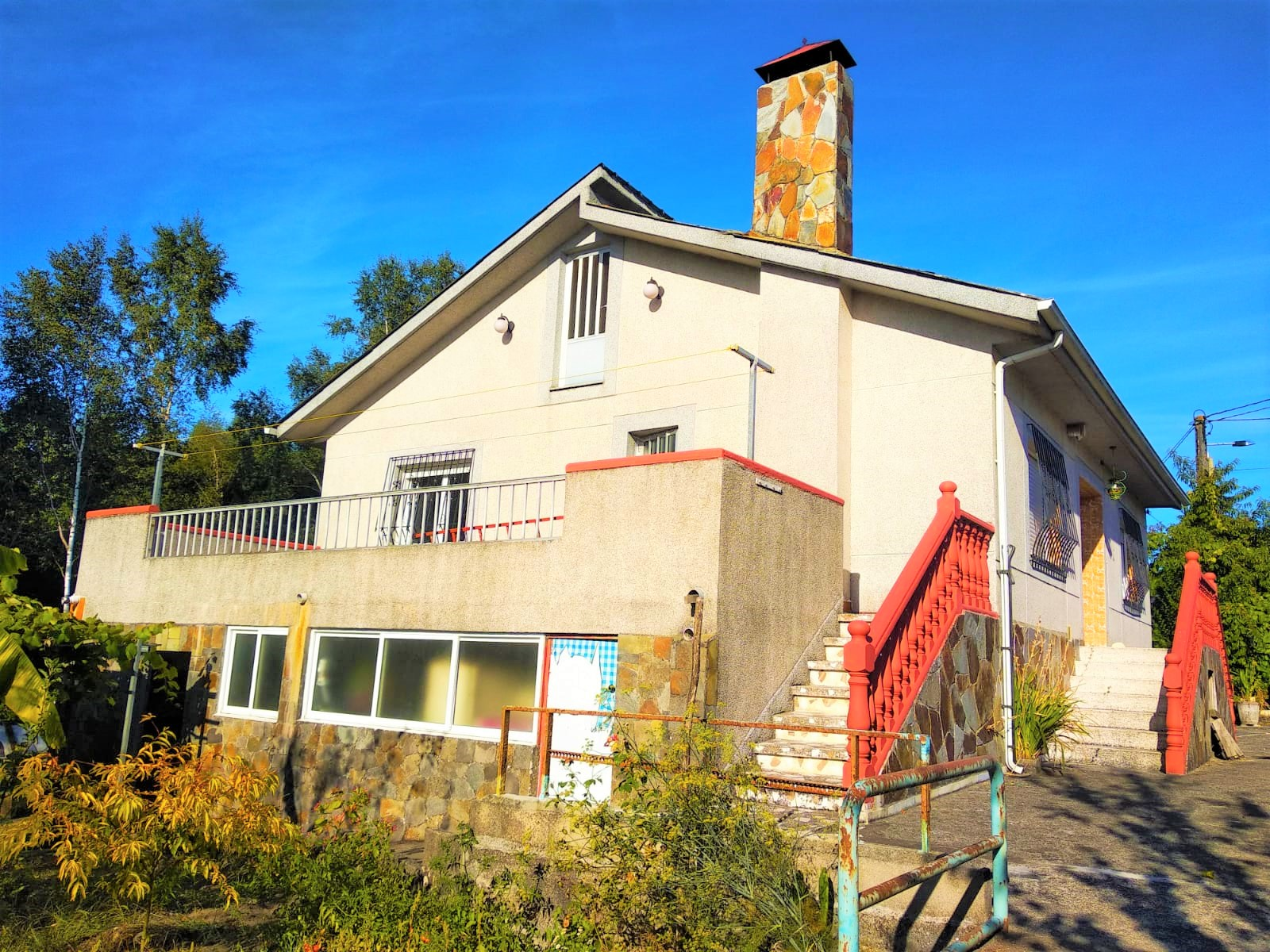Chalet independiente – en Ramil (Lugo)