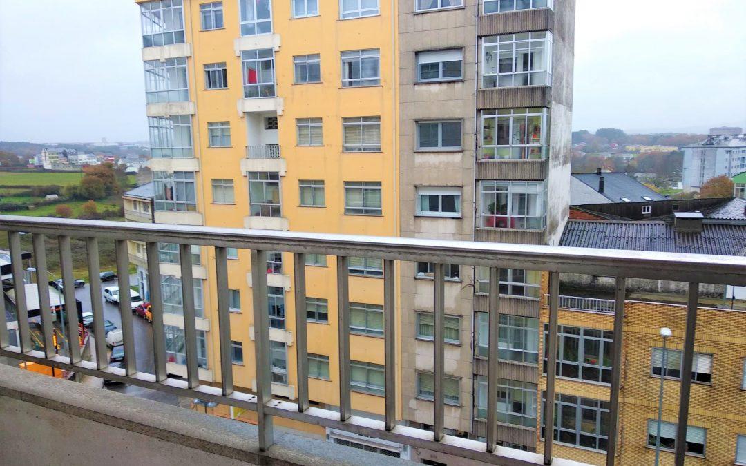 Piso exterior – en Avenida da Coruña (Lugo)