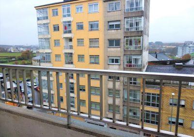 Balcón habitación suite