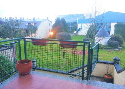 Terraza con salida desde salón