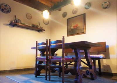 Detalle mesa cocina