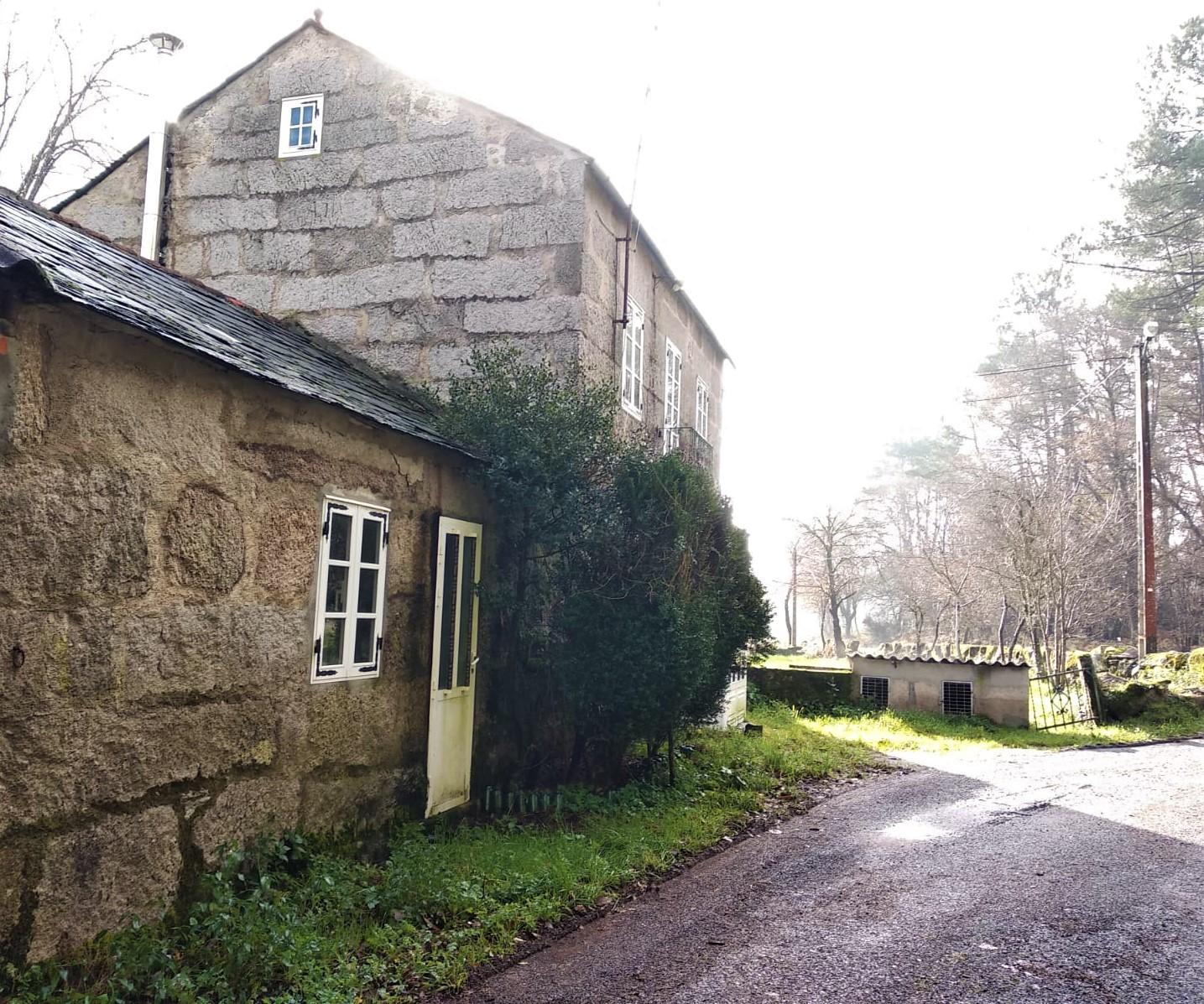 Casa de piedra – en Fonteita (O Corgo)