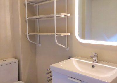 Baño general con bañera de hidromasaje