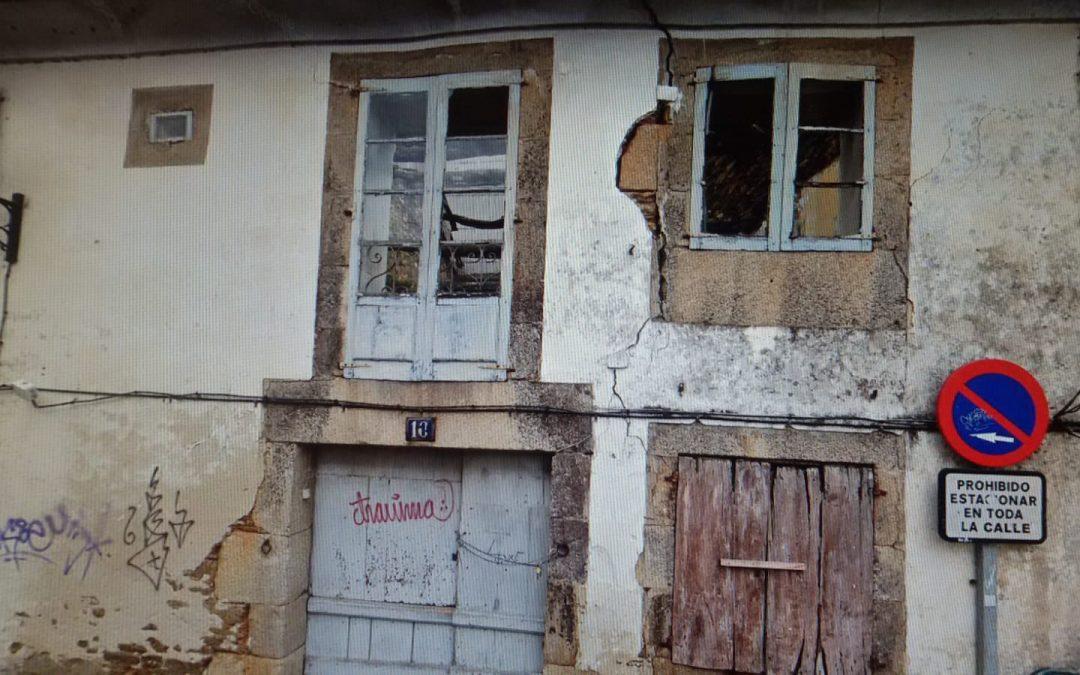 Casa para reformar en pleno Camino de Santiago – en Rúa Porta da Encima (Vilalba)