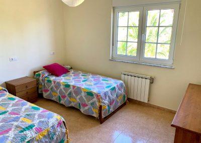 Habitación doble con camas gemelas