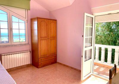 Habitación individual con terraza privada