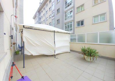 Terraza de 46 metros cuadrados