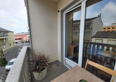 Balcón a calle de habitación doble